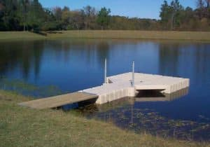 Stock Pond Floating Dock