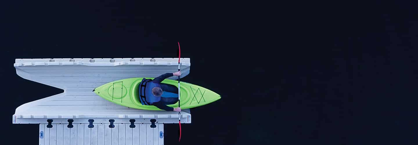 The EZ Kayak Launch System
