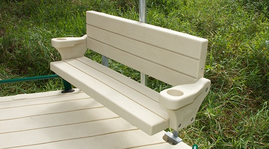 Polyethylene Bench Kit (with armrests)