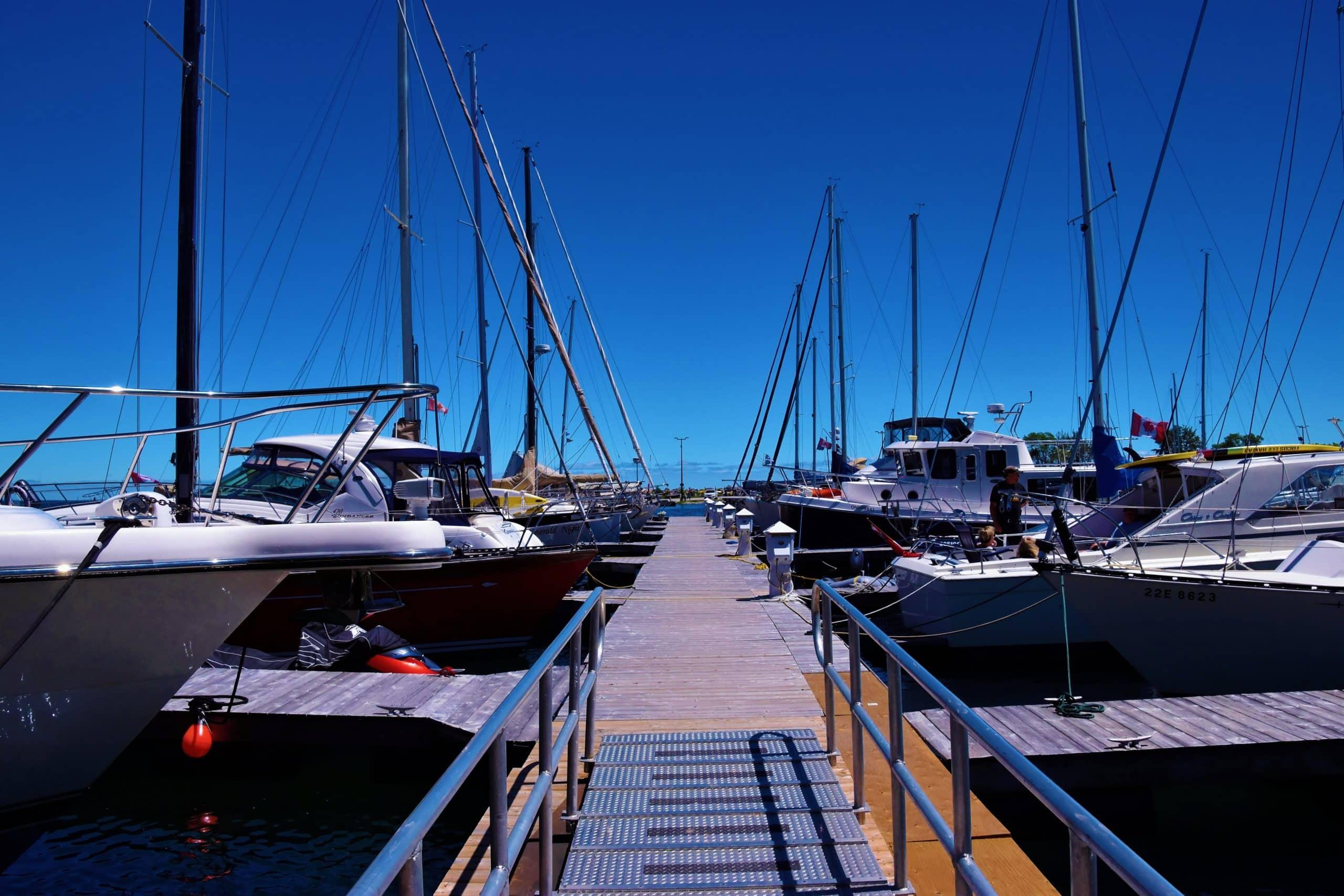 Aluminum Boat Dock