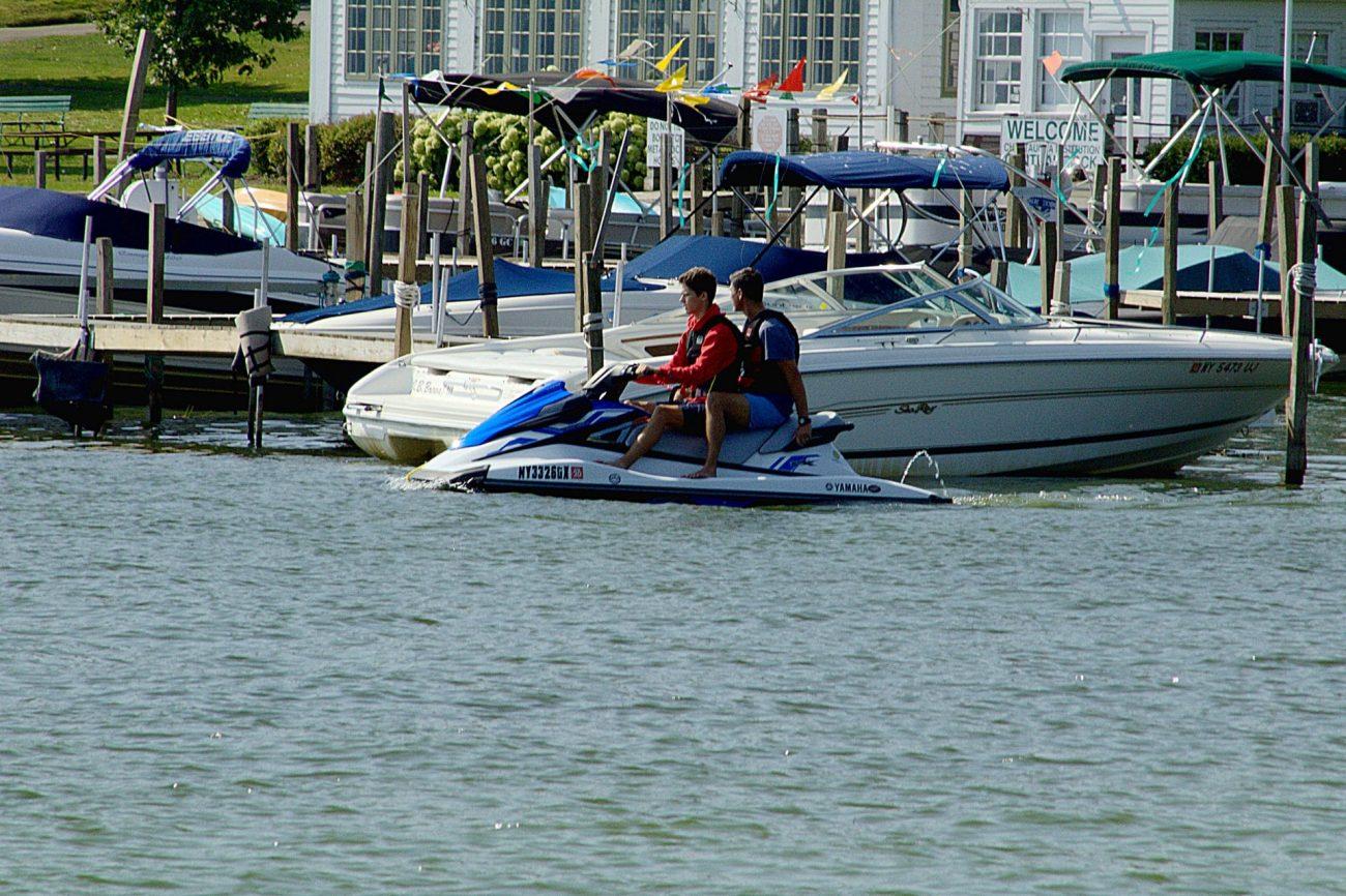 Boats vs Jet Skis