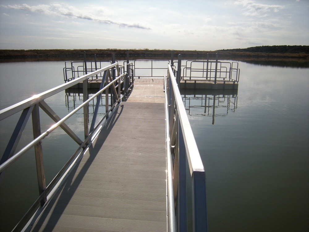 Copper Breaks State Park – Quanah, Texas – ADA Accessible Fishing Pier