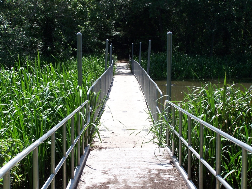 Fort Parker State Park – Mexia, Texas – Floating Walkway