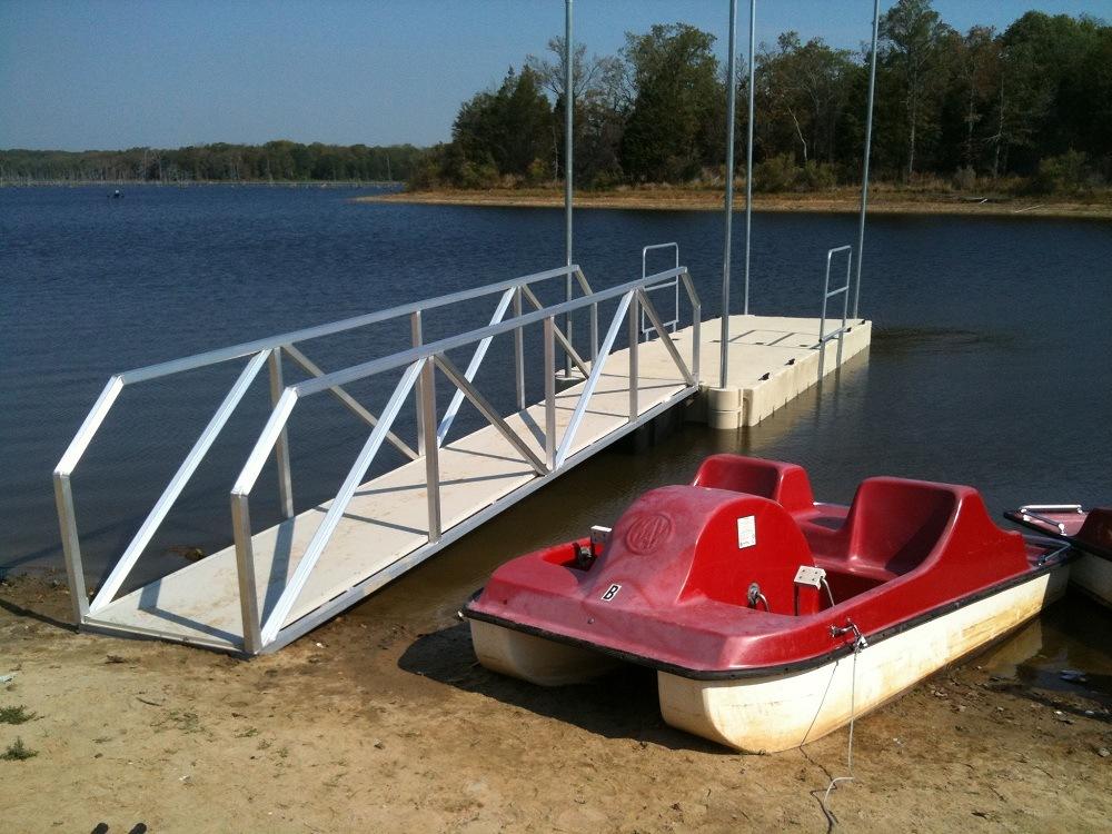 Purtis Creek State Park – Peddle Boat Dock
